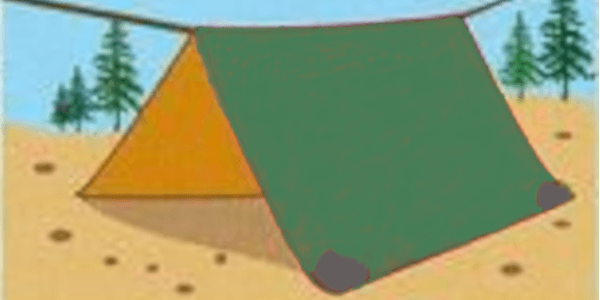 How to make a camping tent from scratch