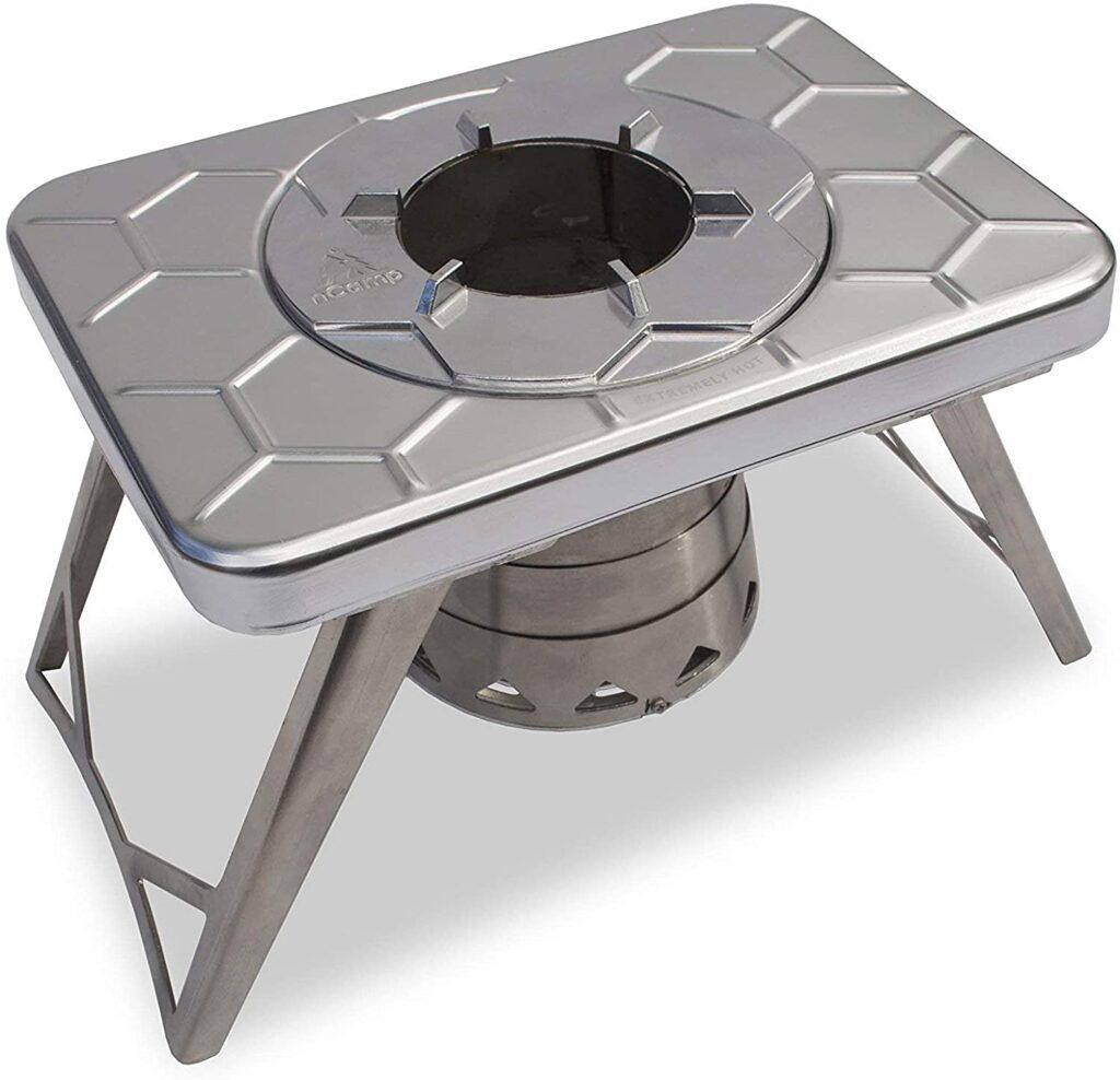 solid fuel camp stove
